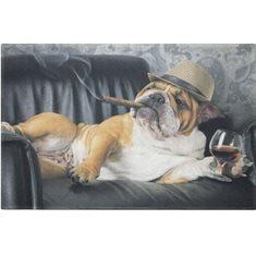 Dörrmatta humour english bulldog