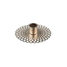 Kronljushållare Doris Sh silver 10x2,7cm