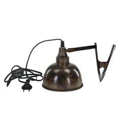 Lampa Clip El Brun antik 15x15
