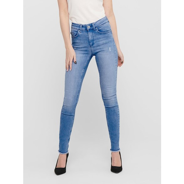 Jeans Blush life raw  Lt blue denim