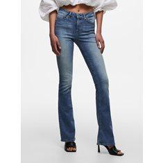 Jeans Blush life flared  Med blue denim