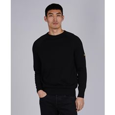 Tröja B.Intl Cotton Crew neck  Black