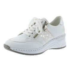 Sneakers N4322  Vit/silver