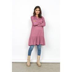 Klänning Pamela   Dk pink rose