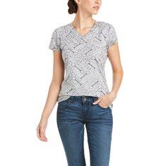 T-shirt Snaffle  Light Heather grey