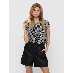 Top Vic  Black Grapic circel