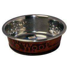 Hundskål rostfri Woof