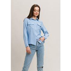 Skjorta Alina  Mid blue