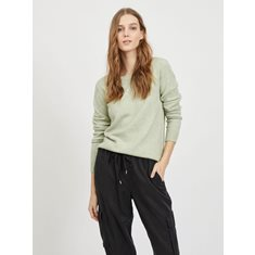 Top Iril o-neck knit  Desert sage