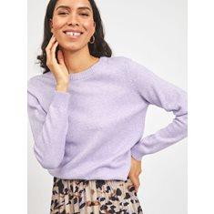 Top Iril o-neck knit  Lavender