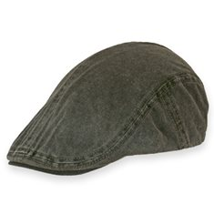 Keps Flatcap  Oliv