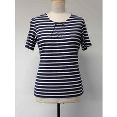 T-shirt S Navy/white