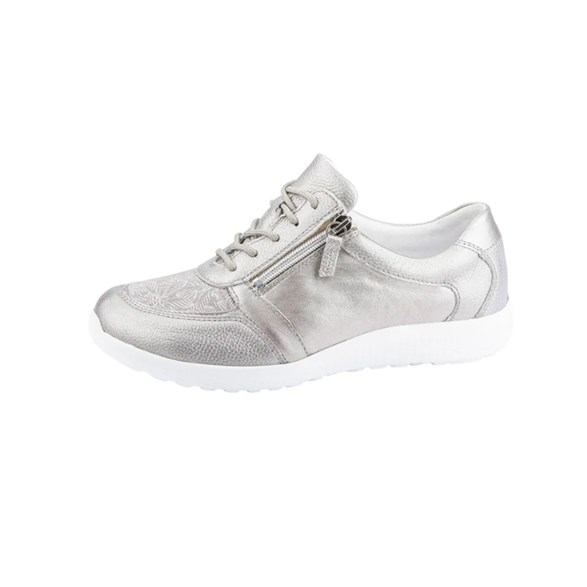Sko Iris Silver/silverstretch