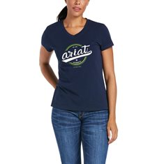 T-shirt Authentic Logo  Navy