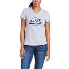 T-shirt Authentic Logo  Grey
