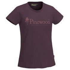 T-shirt Outdoor life Dam  Plum