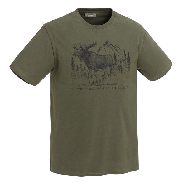 T-shirt Moose  Green