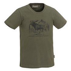 T-shirt MOOSE kid  Green
