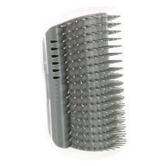 Massageborste Hörn 8x13cm grå