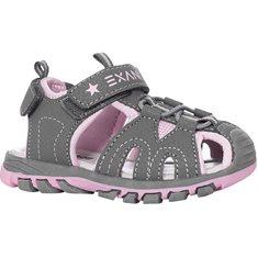 Sandal Nemo Kids Grey/pink