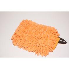 Microfiber handske orange