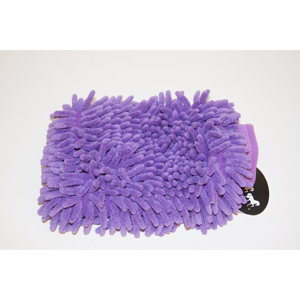 Microfiber handske lila