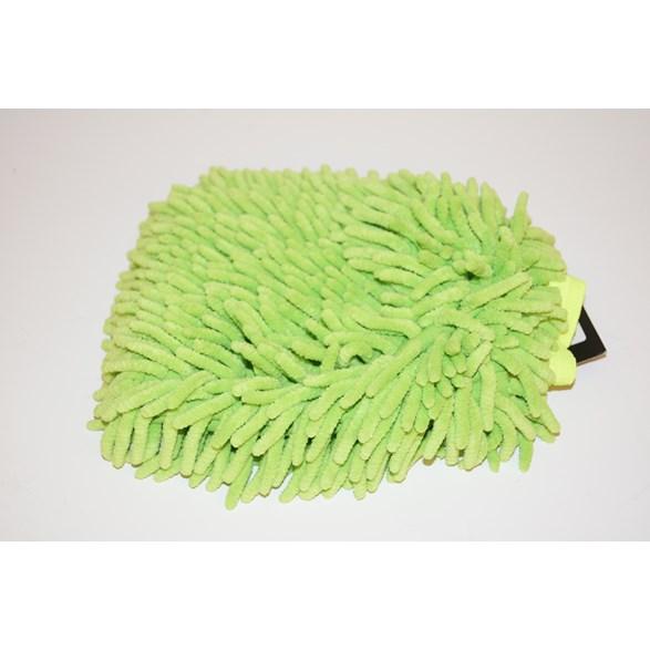 Microfiber handske lime