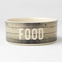 Skål Farm Dog Food gray