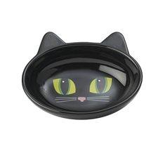 Skål Frisky Kitty oval black