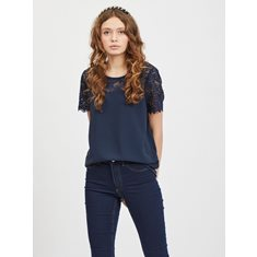 Top Lovie lace Navy blazer
