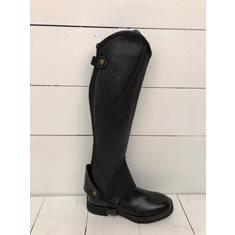 Shortchaps Albero  läder svart