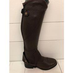 Shortchaps Albero  läder brun