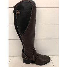Shortchaps Albero  brun/svart läder
