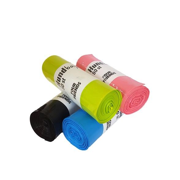 Bajspåsar mix färg