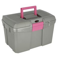 Ryktlåda Siena grå/rosa