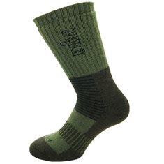 Socka Ull Mid  Grön