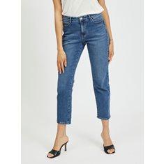 Jeans Sommer 7/8  Med blue denim