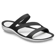 Sandal Crocs Swiftwater W  Black/white