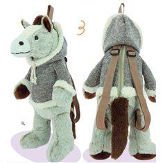 Ryggsäck Horse Beige 50cm