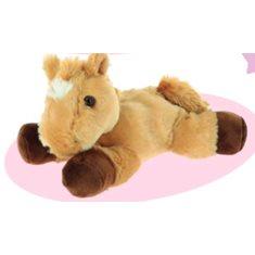 Horse toy Cuddly horse brown 23cm