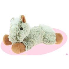 Horse toy Cuddly horse beige 23cm
