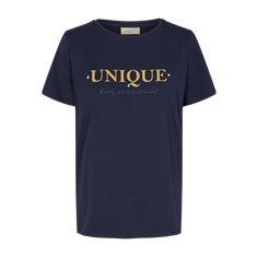 T-shirt Anola Navy blazer