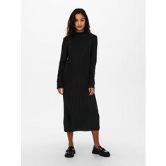 Klänning New Tessa highneck Black