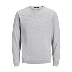 Tröja Dustin knit Cool grey melange