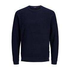 Tröja Dustin knit Matitime blue/navy