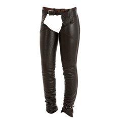 Helchaps läder svart