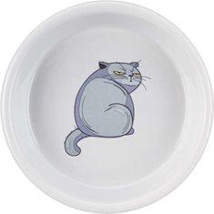 Skål Fat-Cat keramik grå