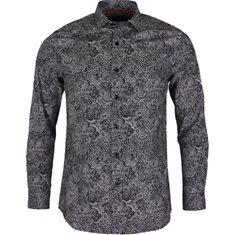 Skjorta Black/white print