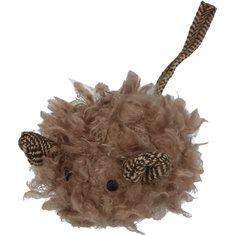 Kattleksak Wooly Luxery Mouse brown