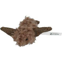 Kattleksak Wooly Luxery Bird brown